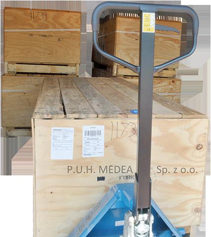 Szybka dostawa biezni z magazynu P.U.H. Medea w Polsce
