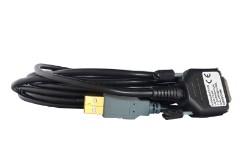 Konwerter USB-COM z separacją 1.5 kV. zabezpieczającą bieżnię. Bieżnia medyczna: Trackmaster, TMX- 425, TMX-428, FVX-328, Aspel B612 model C.