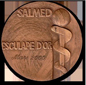 Złoty Esculap w 2000 r. za próbę wysiłkową EKG