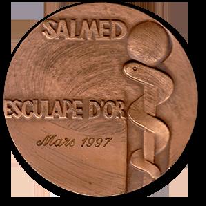 Złoty Esculap w 1997r. za system Holter EKG